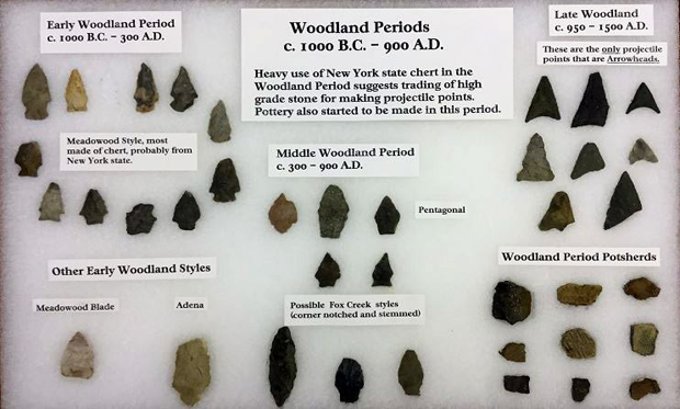 Harry Rice Collection: Reprentative Artifacts from the Woodland Periods