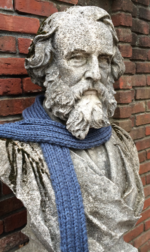 Mr. Longfellow will be warm this winter